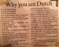 "chaplinandkeaton: "" ""Why you are Dutch"" "" Uhm….juist.(°々。)"