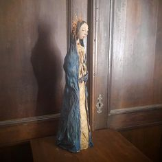 Art Doll - Sculpture - Mary - Santa Guadalupe - Figure - Virgin Mary - Mixed Media Sculpture - Virgin Guadalupe - Religious - Holy Mary by Rustiikkitupa on Etsy