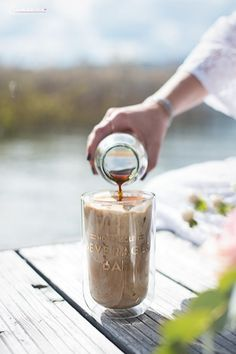 - World of Donvey Lary Affogato, International Recipes, Creative Food, Easy Peasy, Brownies, Coffee Maker, Favorite Recipes, Smoothies, Cocktails