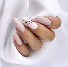 15 shaped stylish nail colors that you can try out .- 15 geformte stilvolle Nagelfarben die Sie zum Probieren inspirieren 15 shaped stylish nail colors to inspire you to try # hair up - Stylish Nails, Trendy Nails, Elegant Nails, Cute Acrylic Nails, Cute Nails, Matte Nail Art, Pastel Nails, Hair And Nails, My Nails