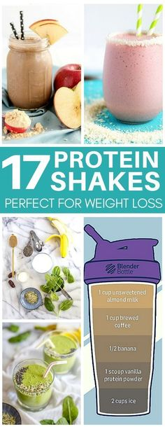 How have I never heard about an iced coffee protein shake?! Delicious protein shake recipes (aka protein packed smoothies) that are perfect for weight loss and clean eating.