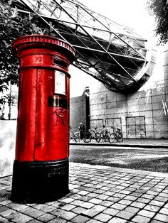 Manchester bombing post box
