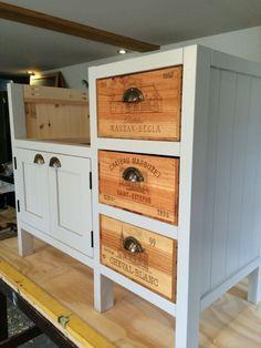 Three drawer belfast sink freestanding kitchen base unit – Belle Furniture