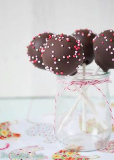 The Sweetest Taste -- Chocolate Cake pops