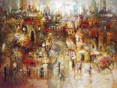 La beauté des vieux murs par Irene Gendelman, artiste présentement exposée aux Galeries Beauchamp. www.galeriebeauchamp.com