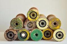 vintage cotton spools