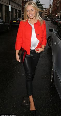 Mollie King , I need this jacket!