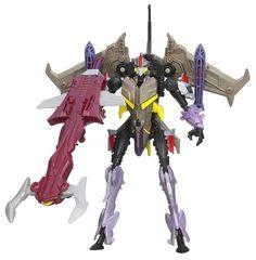 No, starscream. You don't get an upgrade.  Starscream (Transformers Prime: Beast Hunters Deluxe)