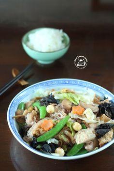 Nasi Lemak Lover: Loh Hon Chai (braised mixed vegetables) 蛇全十美 ~羅漢斋