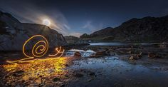 painting with light snail - Google Search