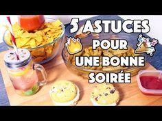 5 Astuces pour préparer une bonne soirée - Food LifeHack ! - YouTube