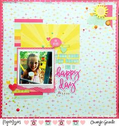 Paper Issues: Product Spotlight: Simple Stories Sunshine & Happiness @orangegearle