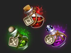 Potions by Jared MacPherson