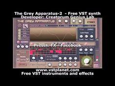The Grey Apparatus 2 - http://www.vstplanet.com/News/13/The_Grey_Apparatus-2   Developer: Creatorum Genius Lab