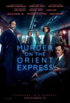 Directed by Kenneth Branagh. With Daisy Ridley, Johnny Depp, Michelle Pfeiffer, Penélope Cruz. A lavish train ride unfolds into a stylish & suspenseful mystery. From the novel by Agatha Christie, Murder on the Orient Express tells of thirteen stranded st Streaming Vf, Streaming Movies, Hd Movies, Movies To Watch, Movies Online, 2017 Movies, Movies Free, Movie Tv, Movie Plot