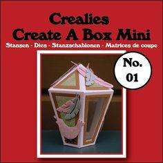 Create A Box Mini stans no. 01 Lantaarn/Create A Box Mini die no. 01 Lantern
