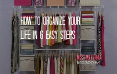 During your 20's and 30's, whether you're in school or not, life is busy. You want to stay organized so that you can put the best version of yourself out into the world! Here are six tips on how to do that. http://missmillmag.com/lifestyle/organize-life-easy/ #OrganizeYourLife
