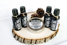 This is the Ultimate Man Collection. Our 4 Beards Oils and our Beard balm; together for one great price. You will save $28 of those hard earned bucks getting the Ultimate Man Collection, which is essentially a free bottle of The Rustic Beardsman Beard Oil! This is a perfect gift for yourself or another bearded fellow.