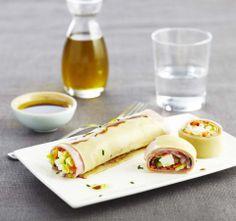 Roulés de jambon façon Salade de Pâtes - La recette : https://www.facebook.com/herta.fr/photos/pb.250368165080987.-2207520000.1397828837./372038136247322/?type=3&theater