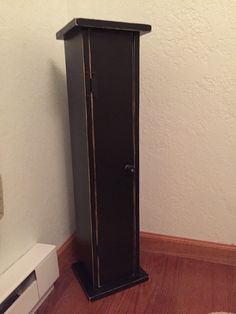 This Is A Rustic Toilet Paper Holder. It Is A Small Floor Sitting Cabinet  Measuring 9 Wide X 8 Deep X Tall Overall. The Inside Storage