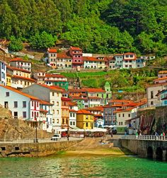 Cudillero, Les Asturies (Espagne)