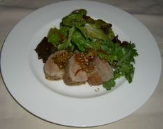 Protein: Pork Tenderloin with Sesame Ginger Sauce