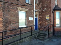 Our entrance facing Loughborough Road
