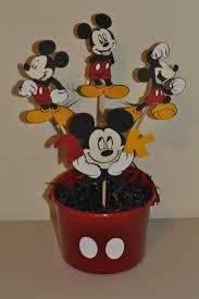 Resultado de imagen para centros de mesa mickey mouse