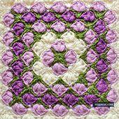 Ravelry: 4033 Crochet Square pattern by MYpicot