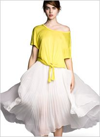 flowy skirt!