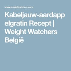 Kabeljauw-aardappelgratin Recept | Weight Watchers België