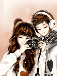Coretan De Irma: Anime Korea Cute Couple Season 2