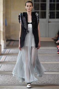 Sfilata Bouchra Jarrar Parigi - Alta Moda Autunno-Inverno 2015-16 - Vogue