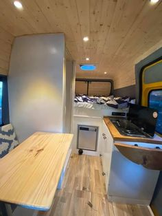 L2H2 Campervan Ideas, Conference Room, Kitchen, Table, Furniture, Home Decor, Cooking, Decoration Home, Room Decor