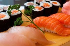 I could eat sushi every day for the rest of my life, and be perfectly content with that.