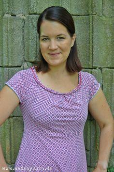 Nähbeispiel lillestoff » Pink Sevenbark « // Design: Stefanie Krauss // Nähbeispiel: Madebymiri