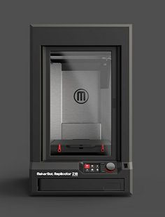 replicatorZ18 - new desktop 3dprinters at ces2014 from makerbot and cube http://wp.me/p2YU2b-if
