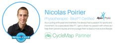 Nicolas Poirier, Bike PT physiotherapist, takes you through the crucial exercise of controlled pedalling. This exercise will prevent cycling injuries. Cycling Tips, Injury Prevention, My Passion, Encouragement, Exercise, Handstand, Ejercicio, Excercise, Tone It Up