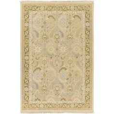 Surya SNM9038-1014 Sonoma 10' x 14' Rectangle Wool Hand Knotted Traditional Area - Blue