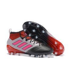 finest selection 0489e 68b82 Acheter 2017 Adidas ACE 17.1 FG ACC Chaussures de foot Blanc Noir Rose