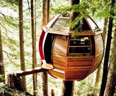 The Hemloft Treehouse by Joel Allen