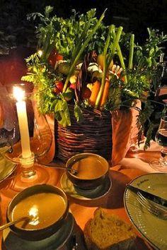 rustic vegetable crudite - Google Search