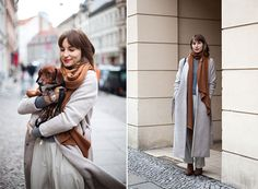 I do like the outfit. But I like the daschund more. One day... one day.