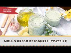 Molho Grego de Iogurte - Receitas de Minuto EXPRESS #219 - YouTube