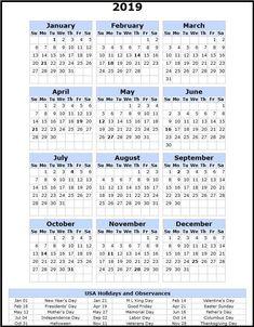 2019 Canada Calendar Wallpaper With Holiday Calendar 2019