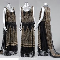 Evening dress, by the House of Worth, ca. 1929. Kerry Taylor Auctions ❤️❤️