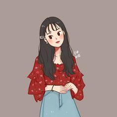 Cartoon Art Styles, Cute Art Styles, Cartoon Drawings, Cute Drawings, Cover Wattpad, Cute Couple Art, Cute Cartoon Wallpapers, Wow Art, Kawaii Art
