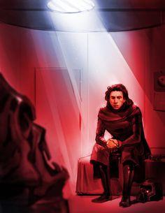 Emo Kylo Ren from Star Wars Episode VII The Force Awakens