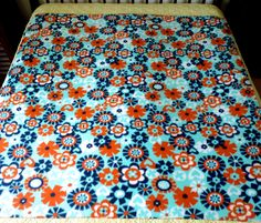 Great fleece blanket for a nice spring day.  Handmade with love!
