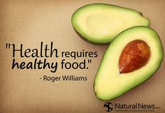 health requires healthy food.. rogers williams